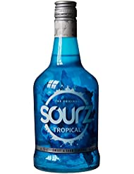 SOURZ TROPICAL BLUE, 70 cl