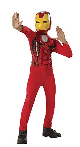 Avengers-Iron Man Kostüm, Mehrfarbig, L (Rubie 's 640921-l) (Kunststoff Iron Man Kostüm)