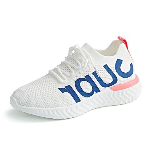 Femme Chaussure de Sport Outdoor de Course Running Jogging Sneaker Chaussure de Basket Mode Casual Légère Antichoc 35-40