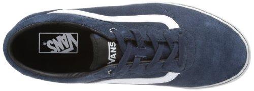 Vans M Milton Suede, Herren Sneakers Blau ((Suede) indigo/ AJB)
