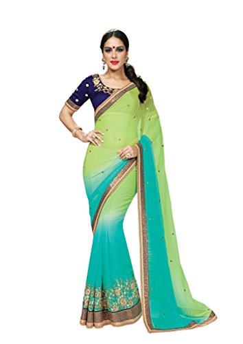 Mahotsav Women's Chiffon Dhupian Sarees ( 9353 )  available at amazon for Rs.2152
