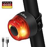 LIFEBEE LED Fahrrad Rücklicht, StVZO Zugelassen USB Wiederaufladbare...