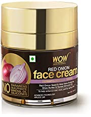WOW Skin Science Red Onion Face Cream Oil Free Quick Absor