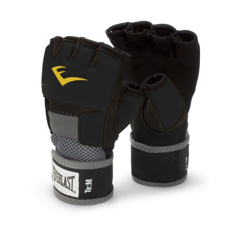 Everlast 4355BL Hand Wrap, Large(Black)