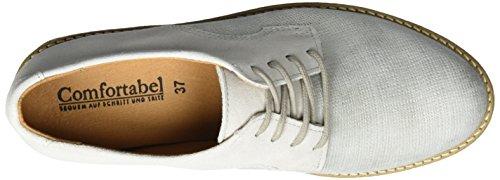 Comfortabel Damen 950714 Brogues Silber (Silber)