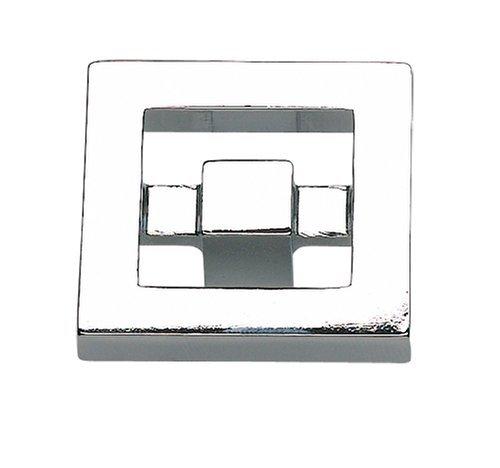 Atlas Homewares 260-CH - Pomello Nobu da 3,8 cm, in cromo lucido
