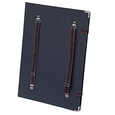 mylifeunit portable extérieur Planche de dessin, croquis Planche à dessin avec ceintures pour dessiner ou dessiner, 30x 40cm