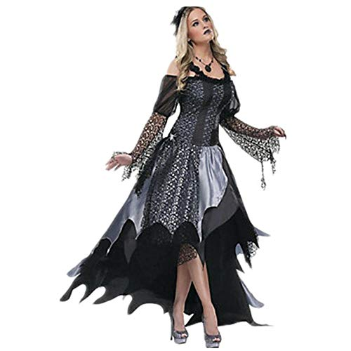 Kostüm Dead Devil - JRKJ Halloween Hexe Hexe Spielt Uniform Dead Day Devil Witch @ S