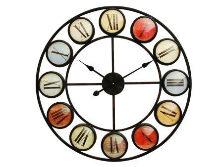 smarty-iron-clock-with-coloured-domed-numerals