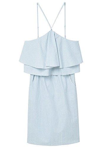 mango-frill-cotton-day-dress-size10-colorsky-blue