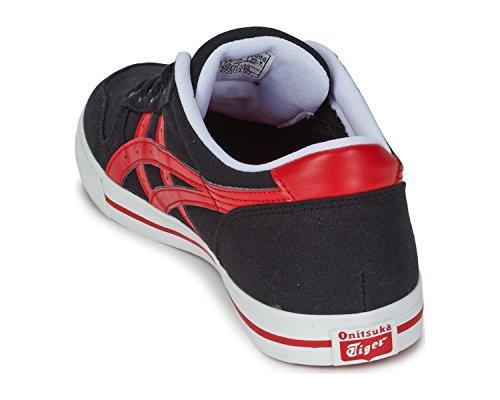 onistuka Tiger Aaron Basketball Chaussures pour Adulte Unisexe Schwarz/Rot (9023)