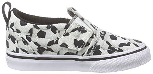 Vans Slip-on V, Chaussures Premiers pas mixte bébé Multicolore (Sports/Soccer/Black)