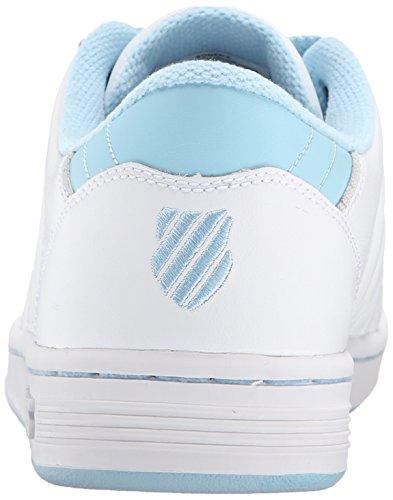 K-swiss Lozan Iii, Chaussons Sneaker Femme Blanc - Weiß (WHITE/BLUE HEAVEN 193)