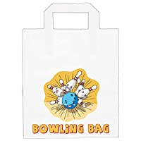 AK Giftshop Ten Pin Bowling Party / Goody / Loot Bags (Pack of 6)