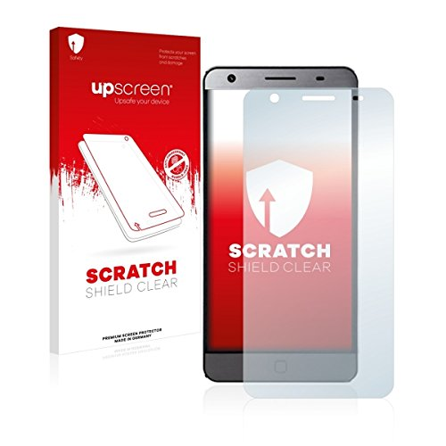 upscreen Scratch Shield Clear Bildschirmschutz Schutzfolie für Elephone P7000 (hochtransparent, hoher Kratzschutz)