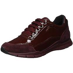 Geox D Sukie B, Zapatillas para Mujer, (Dk Burgundy C7357), 38 EU