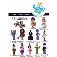 2008 Mcdonalds Madame Alexander Wizard of Oz Dolls Set Of 12 Figure by Madame Alexander