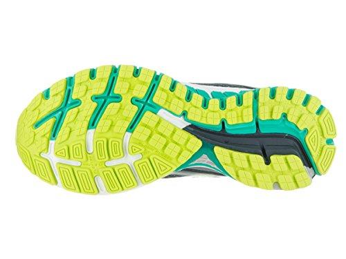Brooks Adrenaline GTS 16, Scarpe da Corsa Donna Anthracite/Aqua Green/Lime Punch