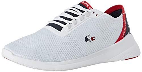 Lacoste LT FIT 119 5 SMA, Zapatillas para Hombre, Blanco White/Navy/Red 407, 42 EU