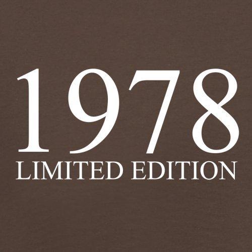 1978 Limierte Auflage / Limited Edition - 39. Geburtstag - Herren T-Shirt - 13 Farben Schokobraun