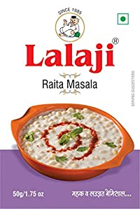 Lalaji Supreme Quality Raita Masala Used in Dishes for its mouthwatering Taste (50)