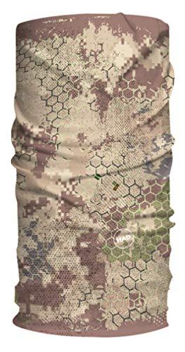 HAD Multifunktionstuch Wüste Raster, sandfarben, Polyester, one size