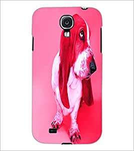 PrintDhaba Cute Dog D-3440 Back Case Cover for SAMSUNG GALAXY S4 (Multi-Coloured)