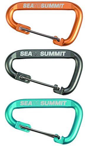 Sea to Summit Accessory Carabiner (Pack of 3) - Assorted