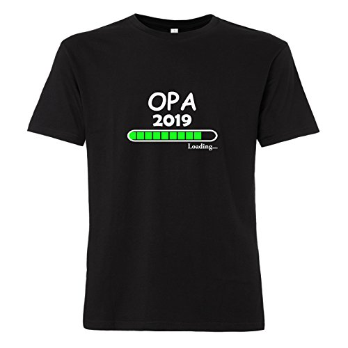 LittleBigFamily Opa Loading 2019 - T-Shirt Schwarz XL