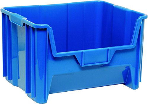 Stacking Plastic Containers (QUANTUM Aufbewahrung Mehrzweck GIANT Stapeln Open Hopper Container)