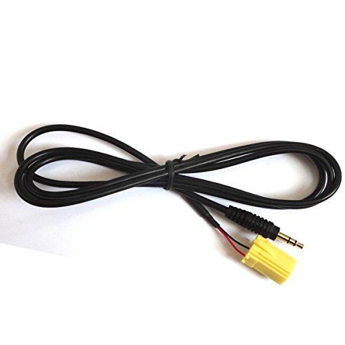 Amsamotion Fiat Grande Punto câble auxiliaire pour iPod/mp3 - Plaqué Or