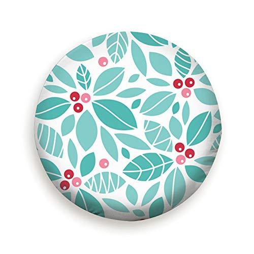 Ye Hua Holiday Holly Berry Holidays Cover mit elastischem Saum-haltbarem Design hält Schmutz, Regen und Sonne von Ihrem Reserverad fern Holly Berry Designs