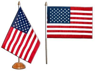 Tischflagge Tischfahne USA - 15 x 22 cm (Tische Amerikanische)