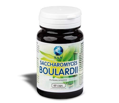 Probiotische Perlen (Probiotiques San Ferment Saccharomyces Boulardi - 60 Kapseln)