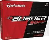 TaylorMade 2017 Burner Soft REACT Core Mens Performance Golf Balls 1 Dozen White