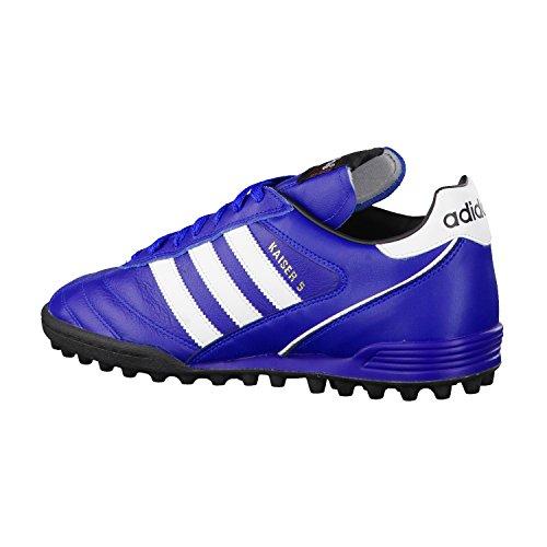 adidas Kaiser 5 Team, Scarpe da Calcio da Uomo Blau (Collegiate Royal/Ftwr White/Cr Black B24023)