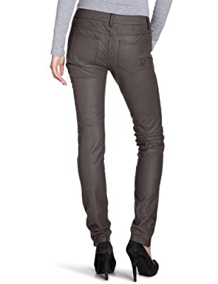 TOM TAILOR 64004910071 Women's Trousers Denim / Fake Leather extra skinny