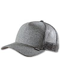 DJINNS - Cut & Sew (grey heather) - High Fitted Trucker Cap