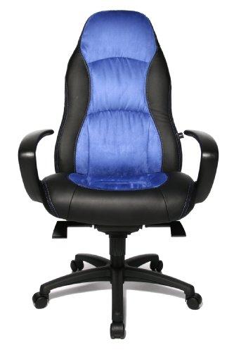 Topstar SC20FTC6 Speed Chair Poltrona Direzionale, Nero - Blu