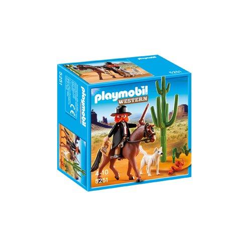 Playmobil - Sheriff con Caballo, Figuras de Juguete...