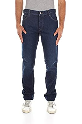GEP110ICONICBLEU Prada Jeans Men Cotton Blue