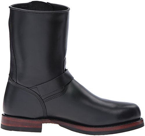 John Boot Black Addison Engineer Mens FRYE fRq56w06