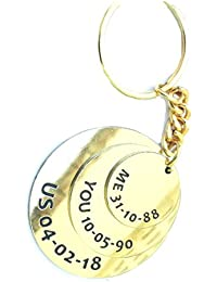 Smart Galleria Golden Anniversary Gift Customized Date Key Case