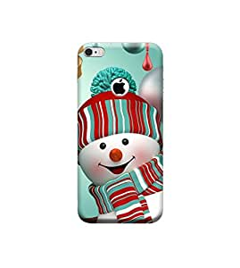 Ebby 3D Printed Back Case Cover For Apple iPhone 6 with Hole (Premium Designer Case)V427