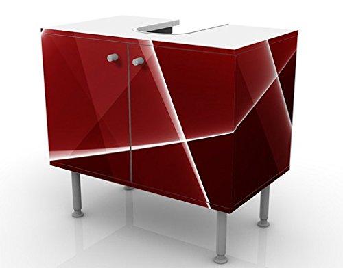 Apalis 54208 Waschbeckenunterschrank Red Reflection, 60 x 55 x 35 cm - 7
