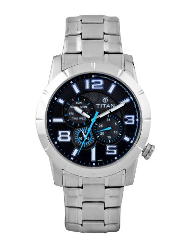41Xhne0oLkL - Titan 9448SM01 Octane watch