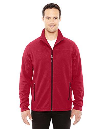 Mens North End (Men's Torrent Interactive Textured Performance Fleece Jacket CLS RED/ BLK 850 S)