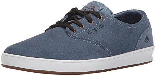 Emerica Men's The Romero Laced Skateboarding Shoe, Blue/White/Gum, 6 M US