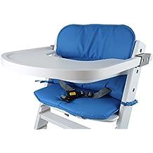 tinydo de trona Cojín 2teilg. con espuma de Memory de amortiguación–Apto para todos los Sillas Trona–Reductor de asiento/–Fregadero para Baby Sillas de maletero, fácil y testado schadstofffrei.