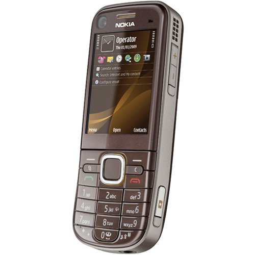 "Nokia 6720 classic 2.2"" 110g Brown - mobile phones (2584 x 1938 pixels, 2.0+EDR, Lithium Polymer (LiPo), EDGE, GPRS, wcdma, 640 x 480 pixels, Polyphonic)"